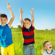 Laughing children - Stock Photo