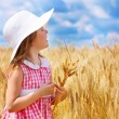 Royalty-Free Stock Photo: Girl in wheat