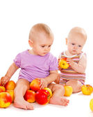Healthy babies — Stock Photo
