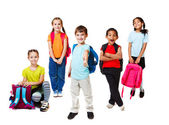 Primary school students — Stock Photo