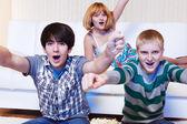 Gritos adolescentes — Foto de Stock