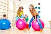 Active kids — Stock Photo