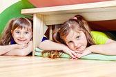 Dvě holčičky — Stock fotografie