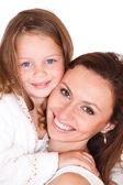 若い女性と少女 — ストック写真