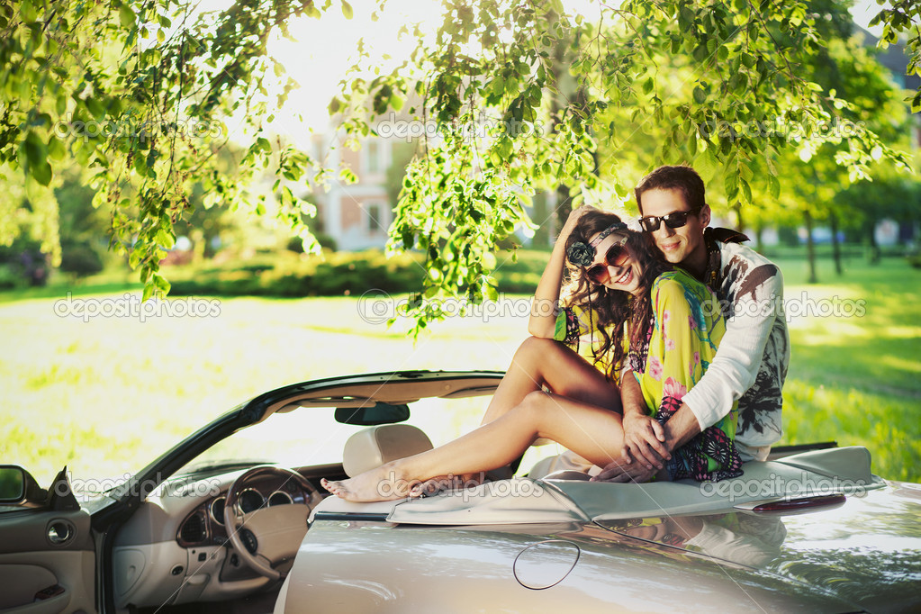 Young sexy couple — Stock Photo #11746191