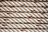 Stap of rope pattern background — Stock Photo