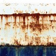 Stock Photo: Rust and decay on metal