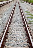 железная дорога в сельской местности — Стоковое фото