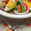 Salad with egg — Stock Photo #10979531