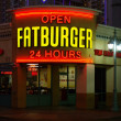 Fatburger restaurant - Stock Photo