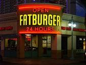 Fatburger restaurant — Stock Photo