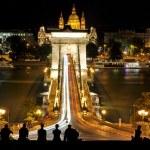 Chain Bridge at Budapest, Hungary — Stock Photo #11937087