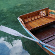 Empty boat on water — Stock Photo #11983114