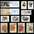 Postage stamps from the former Soviet Union - Foto de Stock  