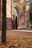 Katholische Kirche st. Valentinus in kiedrich — Stockfoto