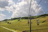 Teleférico al monumento niederwald — Foto de Stock