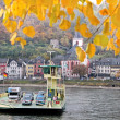 Car ferry across Rhine — Stock Photo #11473760
