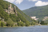 Castle Reichenstein (Middle Rhine Valley) — Stock Photo