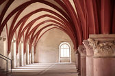 Vault in the Cistercian monastery — Stock Photo