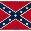 Stockfoto: Grunge Confederate Flag