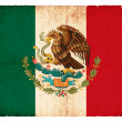 Royalty-Free Stock Photo: Grunge flag of Mexico