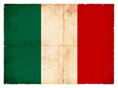 Grunge flag Italy — Stock Photo