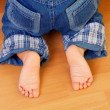 Baby foots — Stock Photo