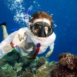 Available by cell phone everywhere - even underwater — Stock Photo #10958642