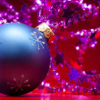 Royalty-Free Stock Photo: Christmas ball and decorations