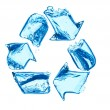 Recycle for clean water — Stock Photo #10959132