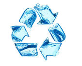 Recycle for clean water — Stock Photo