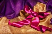 Ribbon and kerchief — Stock Photo