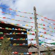 TibetPrayer Flags — Stock fotografie #10783769