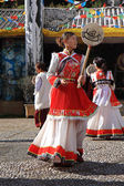 Naxi Ethnic Dance — Stock Photo