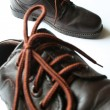 Men's Leather Shoes — Stock Photo
