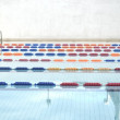 Swimming pool lanes — Stock Photo #11564187