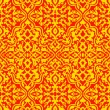 Orange pattern - Stock Vector