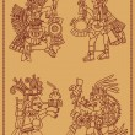 Постер, плакат: Four American Indians maya