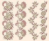 Kwiatowy ornament — Wektor stockowy
