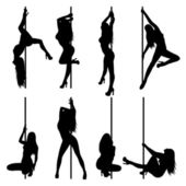 Stripper — Stock Vector
