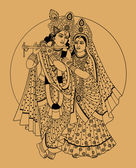 Deuses indianos — Vetorial Stock
