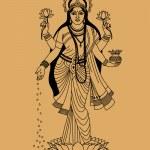 Постер, плакат: Hindu goddess