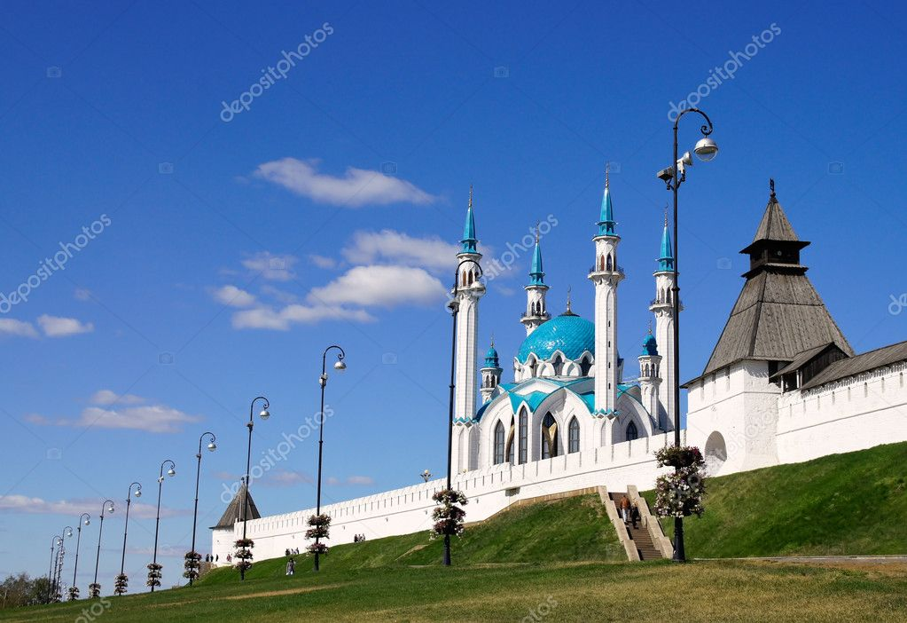 Russia. Kazan.Kreml.Kul Sharif  Stock Photo #10938791