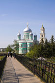 The Holy Monastery kanavka.Serafimo-Diveyevsky in Russia — Foto Stock