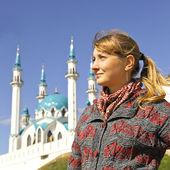 在喀山的女孩 — 图库照片