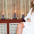 Woman in spa salon — Stock Photo #12065033