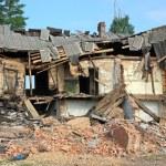������, ������: Ruined house