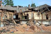 Ruined house — Stock Photo