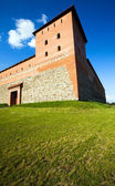 Fortress in the Lida city — Stock Photo