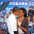 Barack Obama andMichelle Obama — Stock Photo #10766318